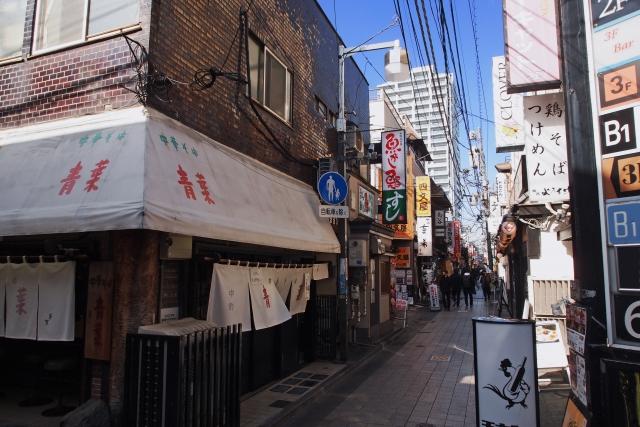 中野駅飲食街